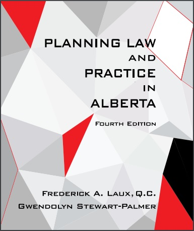 Planning Law and Practice in Alberta